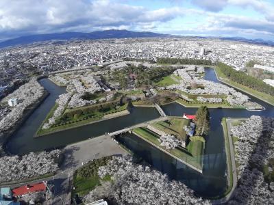 2021GW 函館近郊の桜の名所を静かにめぐる