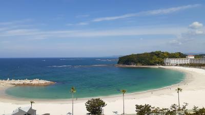 南紀白浜 白良浜と日本三古泉崎の湯