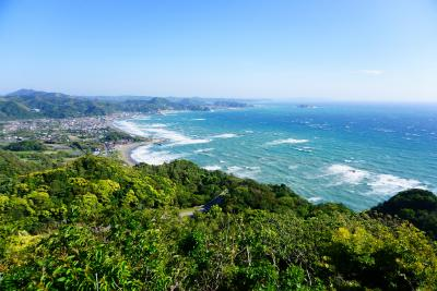 房総半島ドライブ Day#1 ~東京湾と房総半島の絶景を望む断崖絶壁~