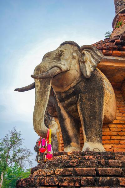 タイの遺跡を全部巡るつもりが、コロナの影響で北部だけで終わってしまった旅 その32 最後の朝も遺跡巡り