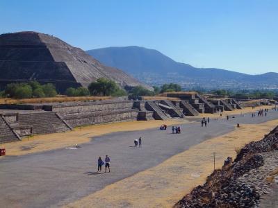 メキシコの旅(3)テオティワカン遺跡