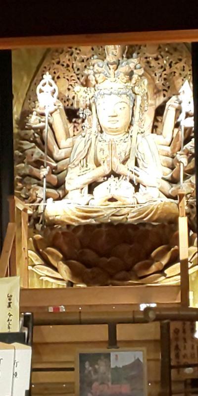 2021年5月 奈良旅行1日目 橿原ダイワロイヤルホテル泊 西国三十三所 第6番 壷阪寺、第7番 岡寺