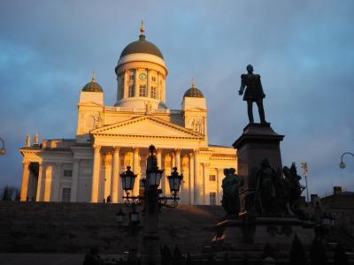 チェコ・フィンランド 冬の旅4 ヘルシンキとスオメンリンネ島
