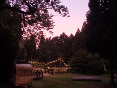アンバイエ@めずらしく(ほぼ)晴れた(撤収時雨( ノД`))camp☆