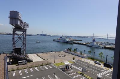 2021年 雨の港ヨコハマ インターコンチネンタル横浜Pier8と動くガンダム、横濱フレンチ