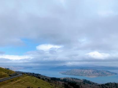 冬と夏を一気に体験できた12泊13日の旅 Vol. 5 雲の切れ間から覗く青空を追いかけて、阿寒摩周国立公園をドライブ♪