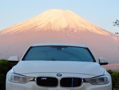 BMWと富士五湖