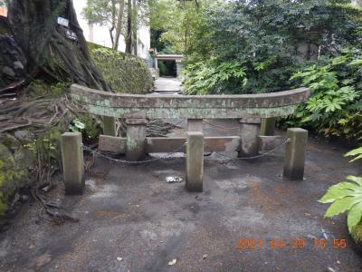 禁断の越県の旅(2) 霧島で食事をした後、桜島を目指して道の駅「たるみず」に立ち寄り、噴火で埋没した鳥居を見ながらぐるっと1周!!