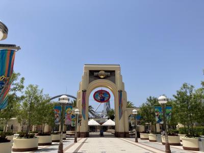 大阪南港エリアをぶらぶら2泊 USJ ユニバーサルウォーク周辺を散策 1日目 リーベルホテル アット ユニバーサル・スタジオ・ジャパン