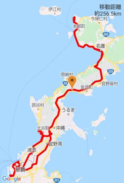 沖縄ドライブ(美ら海水族館・アメリカンビレッジ(北谷)・瀬長島ウミカジテラス)