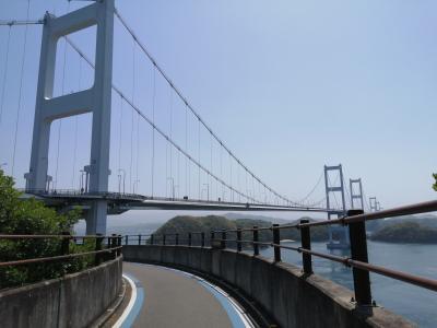 しまなみ海道サイクリング 尾道→松山まで自転車道を走る