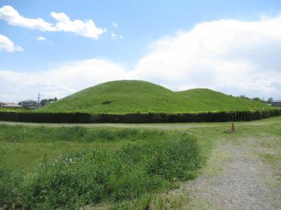 行田へさきたま古墳と忍城見学