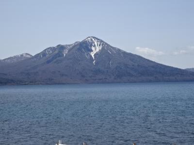 2021年北海道紀行、11、支笏湖、白い影(無影灯)直江医師終焉の地