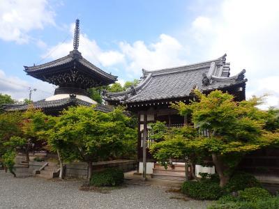 クロスカブで西国観音巡り 9日目 第21番 穴太寺・鍬山神社
