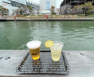 『グリッズプレミアムホテル大阪なんば』朝食♪2020年開業の水辺複合施設『タグボート大正』フードホール『京セラドーム』最新『なんばCITY』