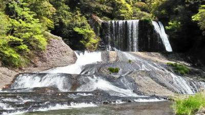 シニア夫婦温泉旅 筋湯温泉に泊まる③ 龍門の滝&耶馬渓「青の洞門」
