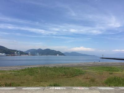コロナ禍の中、きれいな空気を求めて「三保海岸」へ行く!