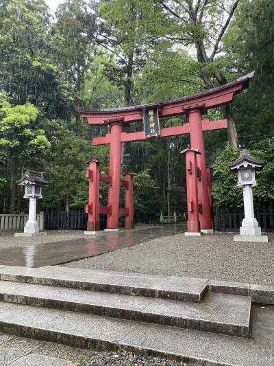 新潟、弥彦神社へ