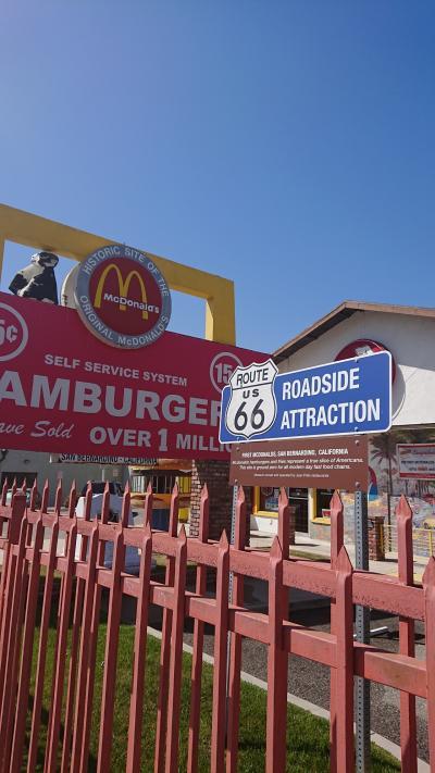 マクドナルド1号店 inアメリカ