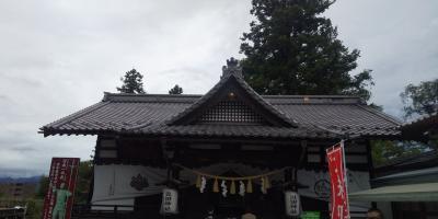 真田神社と信州そば