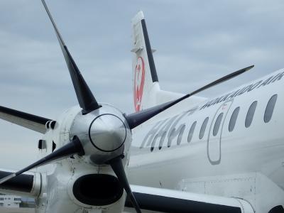 JALマイル修行 HAC跳び飛びの旅 2泊3日で9路線 ③SAAB340で函館へ