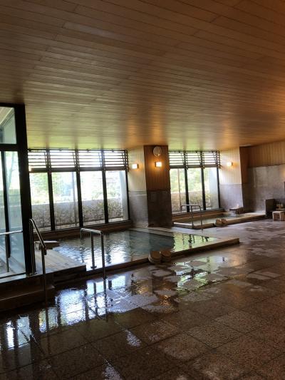松山城から道後温泉