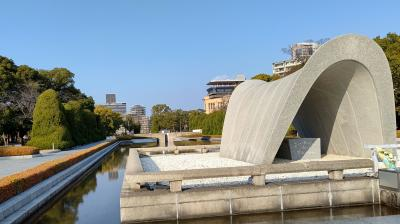 墓参りで戻ってきた広島