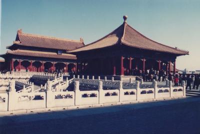 1989年北京・桂林・西安・上海9日間 北京編