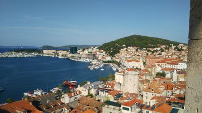 2019夏クロアチア旅行-スプリット-