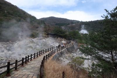長崎旅行&ちょこっと福岡<4>雲仙地獄を散策&ディナー、朝食!編