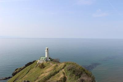 角田岬灯台へ行ってみました