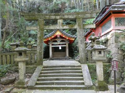 石清水八幡宮 裏参道(Back Approach, Iwashimizu Shrine, Yawata, Kyoto, JP)
