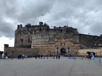 スコットランドの首都エジンバラの街並み。