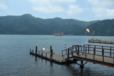 女子会は箱根園☆ ローストビーフと温泉と芦ノ湖とロマンスカー♪