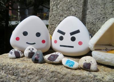 【東京散策116-2】三密回避!境内はおむすびだらけ ( ̄▽ ̄) の高木神社