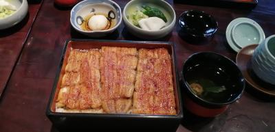 麻布「野田岩本店」ミシュラン鰻重と白焼きランチ