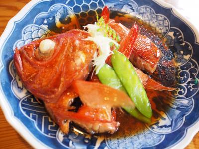 春の伊豆旅No.3<松崎>なまこ壁の松崎町お散歩 民芸茶房で食べるおいしい金目鯛の煮付け