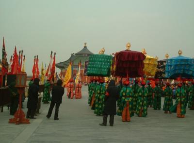 北京の世界遺産・天壇公園を一人ぶらぶら