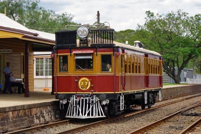 オーストラリア NSW鉄道博物館(その3 動態保存されている旧型ディーゼルカーの博物館列車で小旅行)