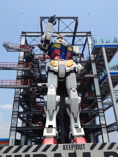 ガンダムがいた!!横浜にいた!!ガンダムが動いた!!