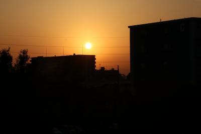 小さな旅 夜明けのわが街小手指2021 Daybreak of my town Kotesashi