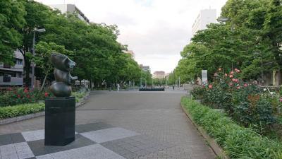 休日に横浜大通り公園、横浜橋商店街を散策。