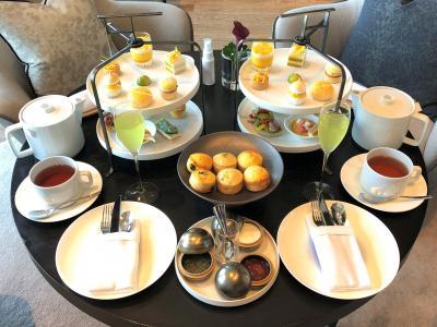 大手町のラグジュアリーホテル『パレスホテル東京』2020年9月開業の『フォーシーズンズホテル東京大手町』のマンゴーサマーアフタヌーンティー♪
