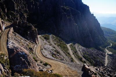 タスマニア 絶景の日帰りハイク3 ベンロモンド山・マライア島 ・ワイングラスベイ (Tasmanian day trekking 3)