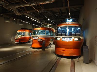 レトロな車両がかっこいいロマンスカーミュージアム