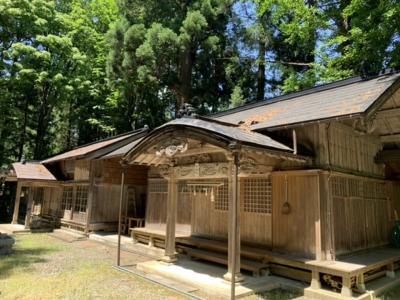 納豆発祥の地へ(金澤公園)