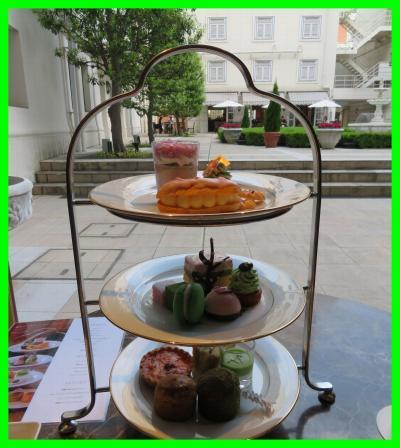 また横浜へ(4)ラウンジ ラ・テラスでアフタヌーンティー&ディナーはルームサービスのドリア@ホテルニューグランド