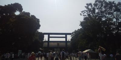 靖国神社参拝と真夏の東京食べ歩き