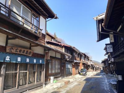 【おときゅうパス】で行く日帰り旅行「奈良井宿」