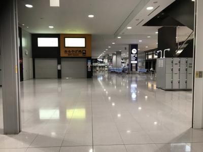 2021年6月 緊急事態宣言下の関西国際空港(KIX)